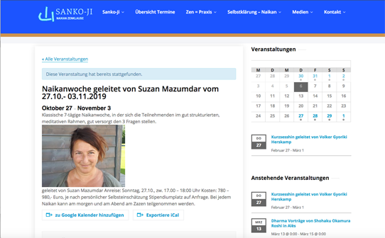 Wordpress Kalender Frontend (2)